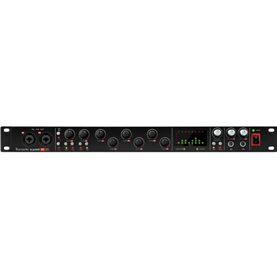Interface De Áudio USB FOCUSRITE Scarlett 18i20